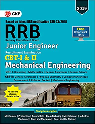 Rrb Junior Engineer Mechanical Books Pdf