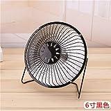 QTQZ Dish Heater,Desktop Saving Energy Electric Heater Fan Home Space heaters Office-Black