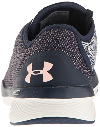 M Trainer Midnight Armour Hypsl Navy Ivory Tr Women's US Cross Charged Under Shoe Push zR0gwq