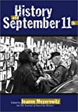 History and September 11th, Joanne Meyerowitz, 1592132030