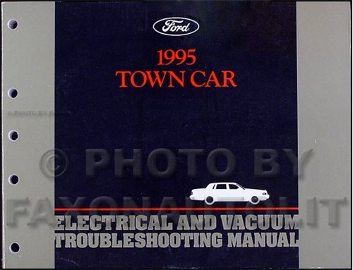 1995 Lincoln Town Car Electrical and Vacuum Troubleshooting - Troubleshooting Lincoln Town Car