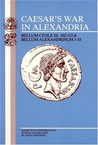 CAESAR'S WAR IN ALEXANDRIA