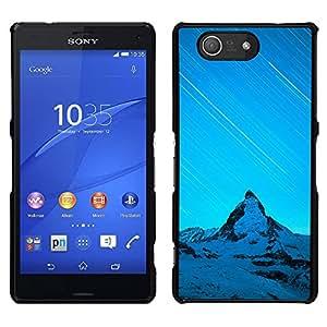 Nevados Hills - Metal de aluminio y de plástico duro Caja del teléfono - Negro - Sony Xperia Z4v / Sony Xperia Z4 / E6508