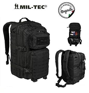 Mochila Incursore Mil-Tec táctico Assault 42 L 3 Days lasercut Black: Amazon.es: Deportes y aire libre
