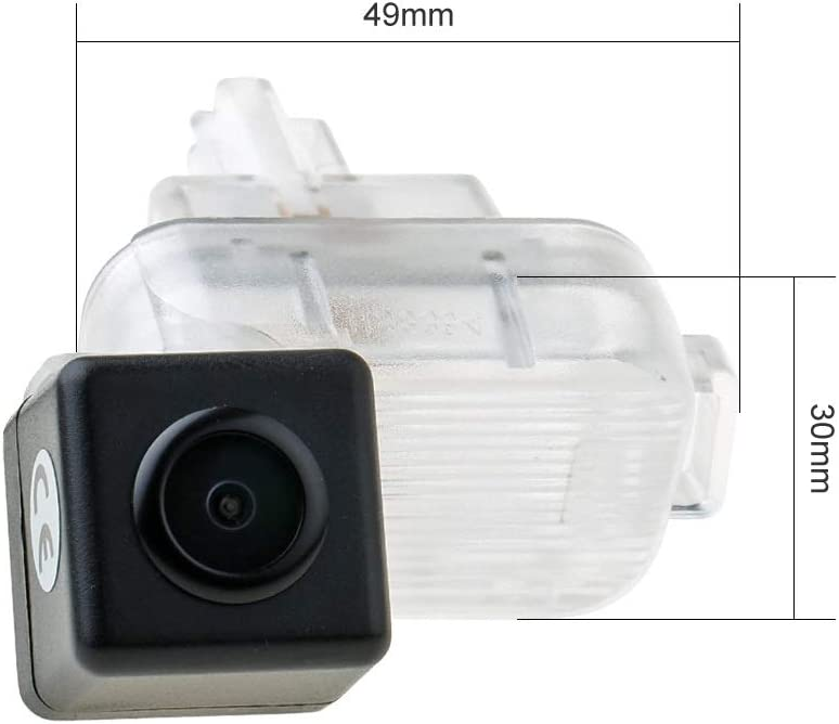 Reversing Vehicle-Specific Camera Integrated in Number Plate Light License Rear View Backup Camera for Mazda 3 Hatchbac//Axela 2014 2015