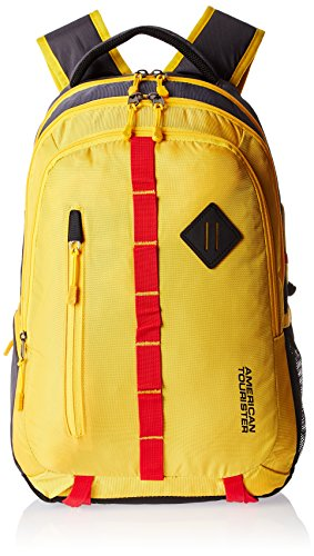 American Tourister Yellow Casual Backpack (ZAP 2016)