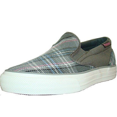 Converse Skid Grip EV Plaid Slip-On Sneaker grau/bunt