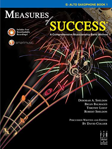 Measures of Success E-flat Alto Saxophone Book 1