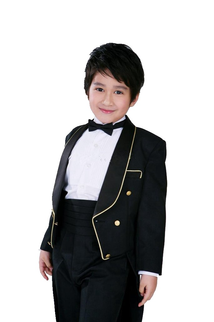 MLT Boy's Long Swallow-tail 2-piece Wedding Party Suits (2S) by MLT