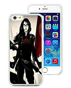 Baroness G.I. Joe White iPhone 6 4.7 inch TPU Cellphone Case Luxurious and Fashion Style