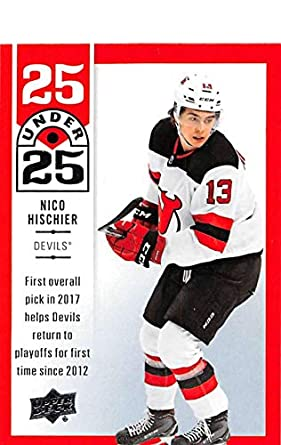reputable site e6845 fa678 Amazon.com: 2018-19 Upper Deck 25 Under 25 Hockey #U25-11 ...