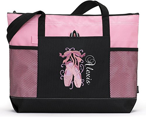 Ballet Embroidered Tote - 3