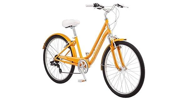 Schwinn Suburban bicicleta híbrida cómoda, con marco de acero de ...