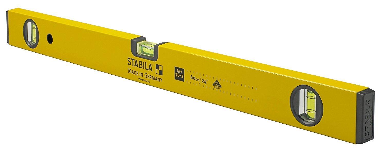 Stabila 22924 24-Inch 70-2 Homeowner Series Traditional Spirit Level