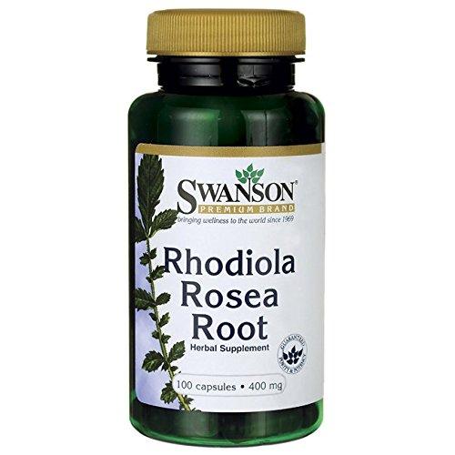 Rhodiola Root - Swanson Rhodiola Rosea Root 400 Milligrams 100 Capsules