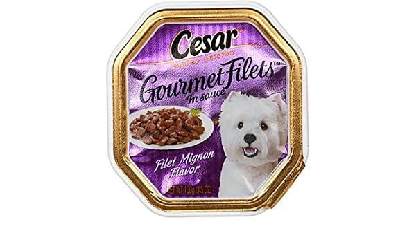 Amazon.com : 24 piezas Treat Cesar Filet Mignon mascotas, 3, 5 oz : Pet Supplies