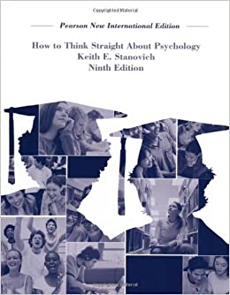 Book How To Think Straight About Psychology by Keith E. Stanovich (6-Aug-2013)