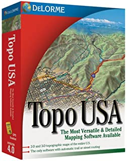 Amazoncom Delorme Topo USA National Maps DVD - Topo us mapping