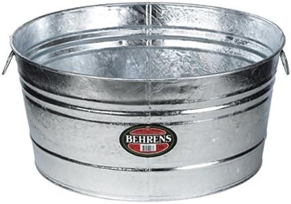 Behrens 7 35 Gallon Round Steel Tub