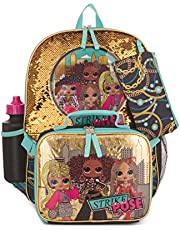 O.M.G. by L.O.L. Surprise 5 Piece Backpack Set for Girls