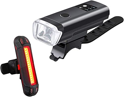 Newest Bike Front Lights Bicycle Bright USB Charging Flashlight Headlights Torch