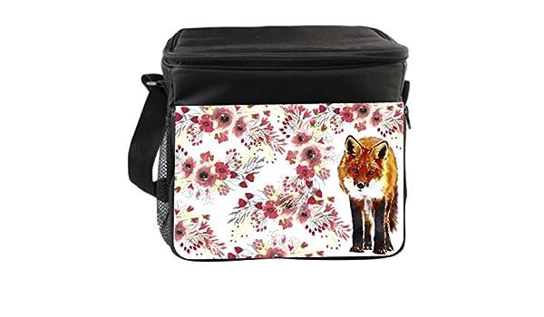 Jacks Outlet Watercolor Fox Gym Bag