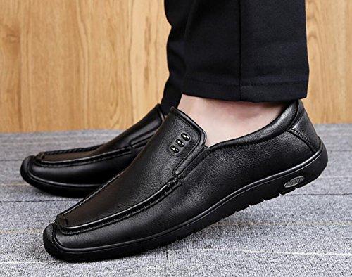 del en los Oficina la Conducción Planos de Negocio de Resbalón Zapatos el Manera para Hombres de Trabajo Segundo de Mocasines los Ocasionales Ocasional vxOUqqHz