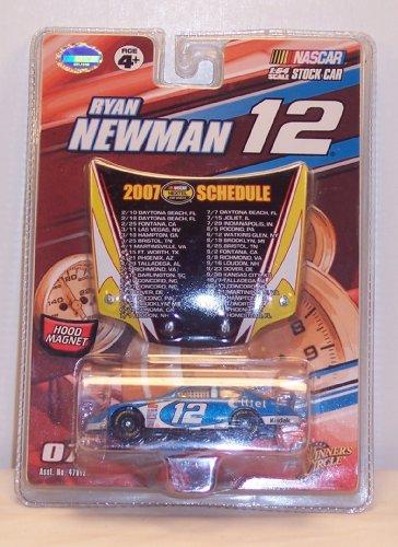 NASCAR, #12 Ryan Newman, Alltel Mobil, Hood Magnet 1:64 Scale Stock (Ryan Newman Alltel Car)