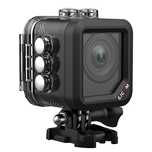 Shake Anti Face - SJCAM M10 WiFi Action Camera 1080p/1.5inch LCD Screen/ 166 Degree Wide-Angle/Digital Anti-Shake/Face Detection Waterproof Sports Underwater Camera - Black