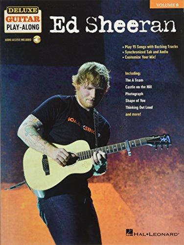 Ed Sheeran: Deluxe Guitar Play-Along Volume 9 Bk/Online Media (Guitar Play Along Book)