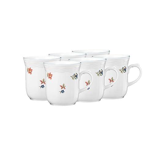 Seltmann Weiden Taza de café Florecitas Juego de 6.: Amazon ...
