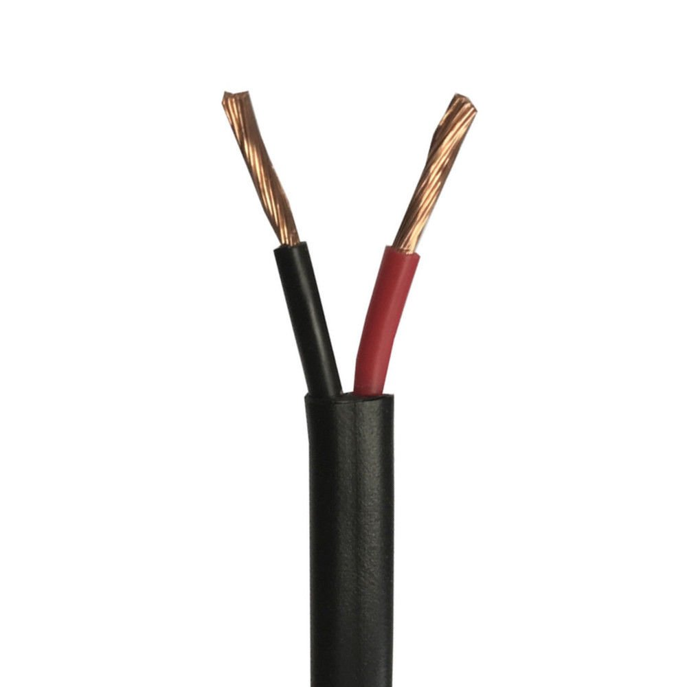 Wire4u 12V 24V AUTOMOTIVE 2//3//4//5//7 CORE THINWALL RED//BLACK CAR CABLE WIRE ROUND//FLAT Flat 2 Core 2.0mm/² 25Amps, 50 Metres