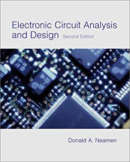 electronic circuit analysis and design donald a neamenelectronic circuit analysis and design donald a neamen 9780072409574 amazon com books
