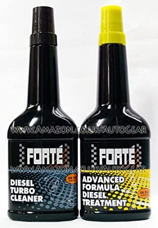 Forte Advanced Diesel Fuel Treatment y Turbo Cleaner Twin Pack: Amazon.es: Coche y moto