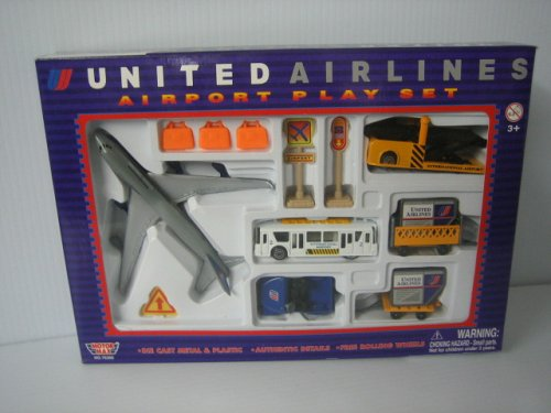 United Airlines Airport PLay Set
