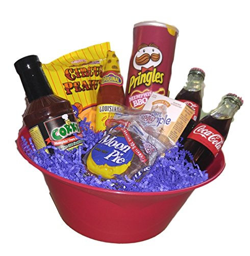Southern Classics Gift Basket, Snack Favorites Inspired by the South (Baskets Gift Southern)