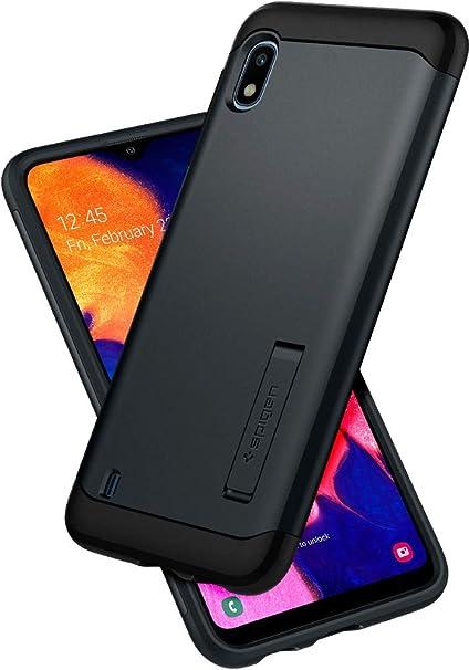 Spigen, Funda Compatible con Samsung Galaxy A10 [Slim Armor] con ...