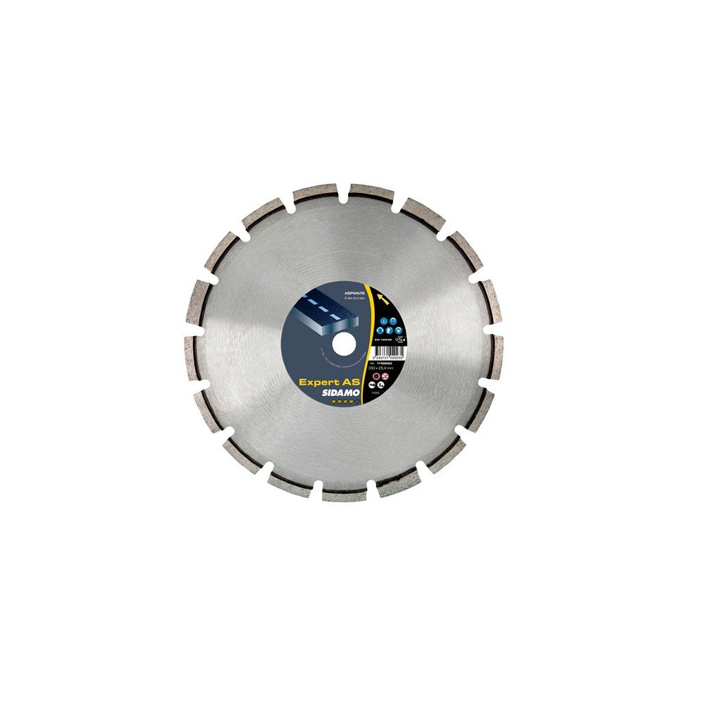 Sidamo–Diamant-Trennscheibe Expert AS D.300x 20x 10x EPH. 3,2mm–Asphalt–11102274