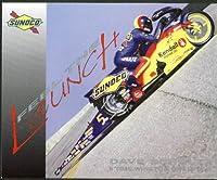 Dave Schultz Suzuki GSXR Motorcycle Sunoco Racing NHRA print 1999