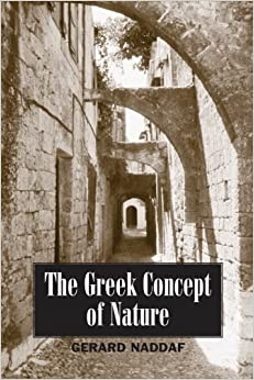 Book The Greek Concept of Nature (SUNY series in Ancient Greek Philosophy)