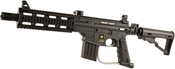 US Army Project Salvo Paintball Gun - Black