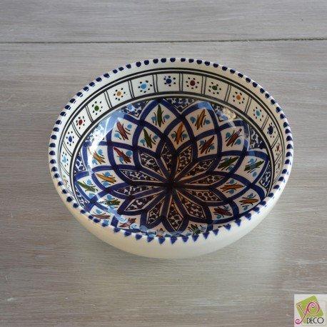Bol Bakir bleu - D 18 cm Yodeco 3760268897541