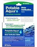 Potable Aqua Chlorine DioxideTablets, 30 Tablets
