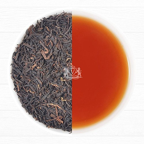 India Orange Tea (Lopchu Flowery Orange Pekoe, Darjeeling Black Tea, 3.53oz/100g (Makes 50 Cups), Single Estate Loose Leaf Tea, Directly From the Iconic Lopchu Plantations, Direct From Source in)
