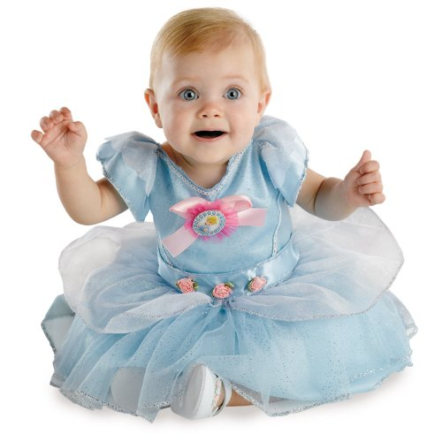 CINDERELLA INFANT Costume(Size:12-18M)