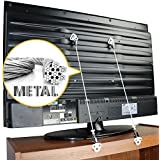 Metal Anti-Tip TV and Furniture Safety Straps Pack of...