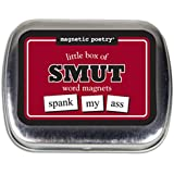 Magnetic Poetry - Little Box of Smut Kit - Words for Refrigerator - Write Poems and Letters on the Fridge - Made in the USA