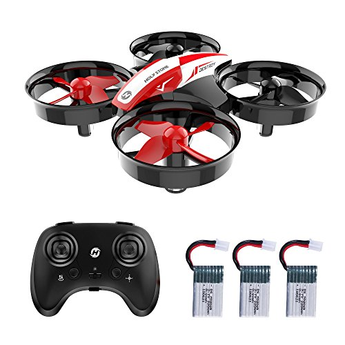 Holy Stone HS210 Mini Drone RC Nano Quadcopter Best Drone for Kids and Beginners RC Helicopter Plane with Auto Hovering, 3D Flip, Headless Mode and Extra Batteries Toys for Boys and Girls (Best Rated Rc Helicopters)