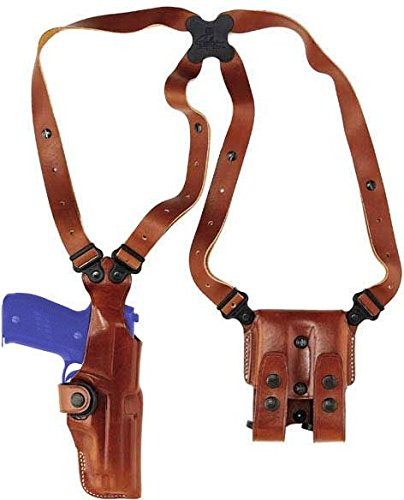 Galco Vertical Shoulder Holster System for Glock 19, 23, 32 (Tan, - Holster Shoulder 32