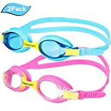Best Goggles For Toddlers - Kids Swim Goggles, Pack of 2, Swimming Goggles Review